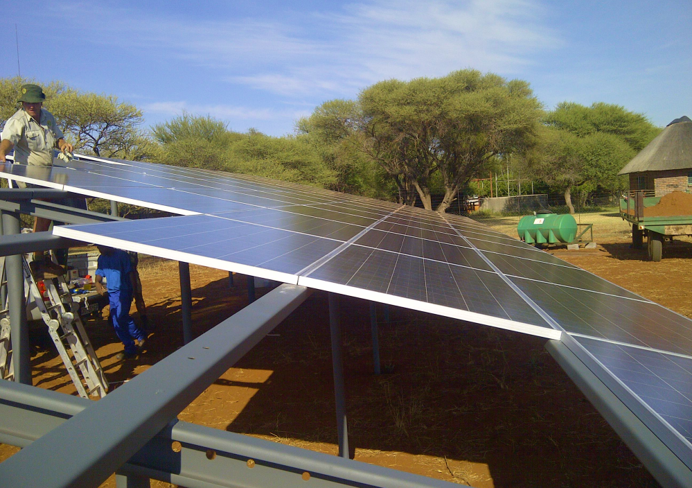 Henkoly Solar power offers alternative energy solutions to South Africa.